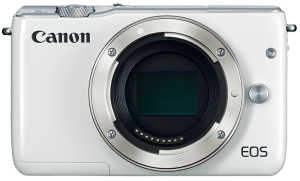 Fotocamera Mirrorless Canon EOS M10 Body (Solo Corpo) White