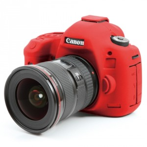 Camera Armor easyCover Silicone Red Canon 5D Mark III - 5DS - 5DS R