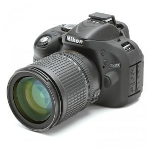 Camera Armor easyCover Silicone Black Nikon D5200