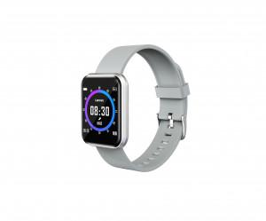 LENOVO Smartwatch E1 Pro Silver ossigenazione sangue cinturino Grigio