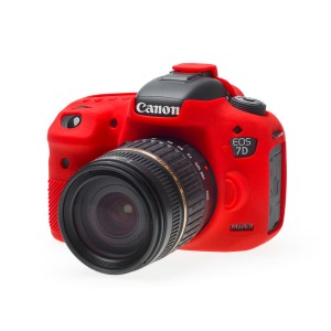 Camera Armor easyCover Silicone Red Canon 7D Mark II
