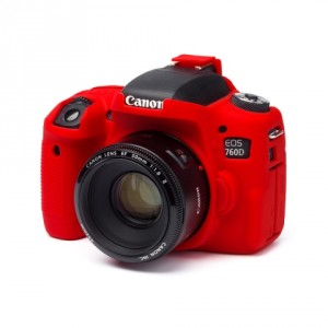 Camera Armor easyCover Silicone Red Canon 760D