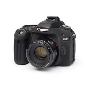 Camera Armor easyCover Silicone Black Canon 80D