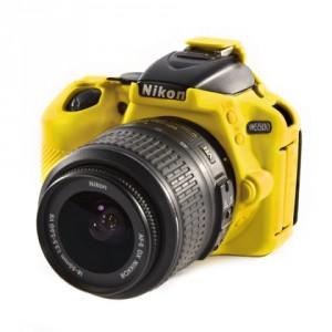 Camera Armor easyCover Silicone Yellow Nikon D5500