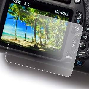 Proteggi schermo easyCover Screen Protector Tempered Glass per Canon 650D 700D 750D 760D 800D