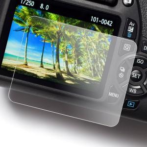 Proteggi schermo easyCover Screen Protector Tempered Glass per Nikon D3200 D3300 D3400 D3500