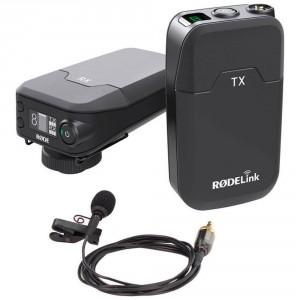Rode RODELink Filmmaker Kit con Ricevitore RX-CAM, Trasmettitore TX-BELT e Microfono Lavalier