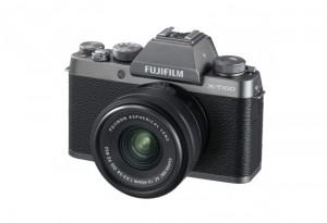 Fotocamera Mirrorless Fujifilm Finepix X-T100 Kit 15-45mm Silver Garanzia Fujifilm Italia