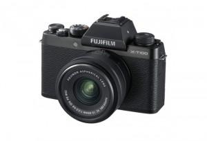 Fotocamera Mirrorless Fujifilm Finepix X-T100 Kit 15-45mm Black Garanzia Fujifilm Italia