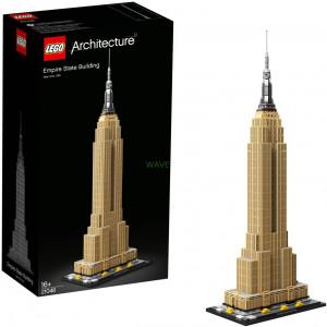 Giocattoli di costruzione LEGO 21046 Architecture Empire State Building