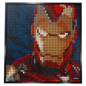 Giocattoli da costruzione Art Marvel Studios Iron Man - foto artistica