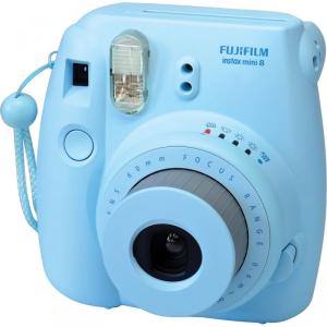 Fotocamera Compatta Fuji Instax Mini 8 Blue Garanzia Fujifilm Italia