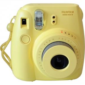 Fotocamera Compatta Fuji Instax Mini 8 Yellow Garanzia Italia Pronta Consegna Spedizione Immediata