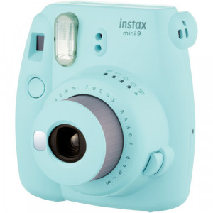 Fotocamera Compatta Fuji Instax Mini 9 Ice Blue Garanzia Fujifilm Italia
