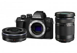Fotocamera Mirrorless Olympus E-M10 II Twin Kit (14-42 EZ)(40-150) Black