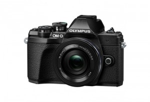 Fotocamera Mirrorless Olympus OM D E-M10 Mark III Kit 14-42mm EZ Black