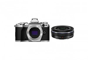 Fotocamera Mirrorless Olympus OM D E-M5 Mark II Kit 14-42mm EZ Silver