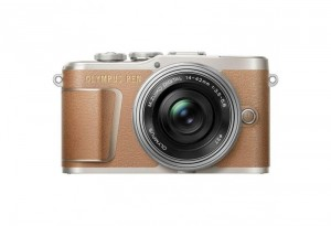 Olympus PEN E-PL9 Body Brown + 14-42mm EZ