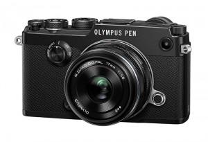 Fotocamera Mirrorless Olympus PEN-F Kit Zuiko 17mm f/1.8 Black