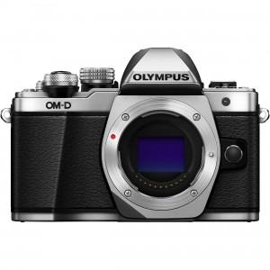 Fotocamera Mirrorless Olympus OM-D E-M10 Mark II Body (Solo Corpo) Silver