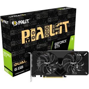 Scheda grafica Palit GeForce GTX 1660 Dual