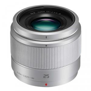 Obiettivo Panasonic Lumix G 25mm f/1.7 Asph (Silver)