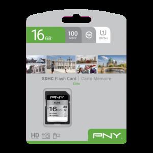Scheda SDHC Pny elite 16GB