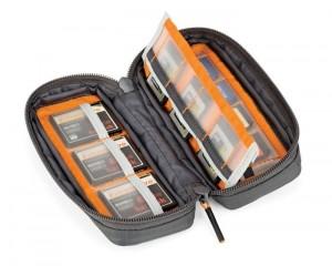 Gearup pouch per memory card grigia