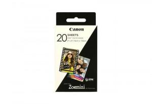 Canon Zoemini fotopapier 2x3inch (5x7,6cm) 20 pose