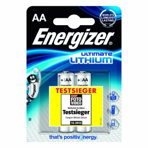Energizer Batteria Stilo AA Ultimate Lithium