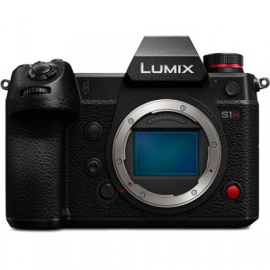 Fotocamera Mirrorless Panasonic Lumix Panasonic LUMIX S1H Garanzia Fowa + Small HD Focus 5'' Touchscreen (Bundle)