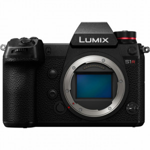 Fotocamera Mirrorless Panasonic Lumix S1R Body Garanzia FOWA 4 anni+Small HD Focus 5'' Touchscreen (Bundle)