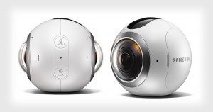 Samsung Gear 360 C200 Camera White