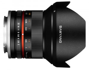 Samyang 12mm f/2.0 NCS CS Black M4/3