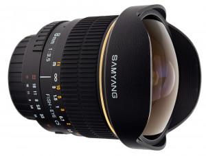 Samyang 8mm f/3.5 Fish-eye CS (Sony E)