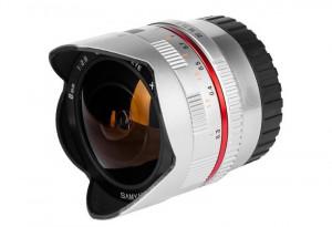 Samyang 8mm F2.8 Fish-eye CS II Silver Fuji X