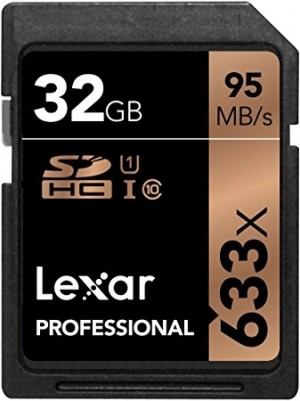 Scheda di Memoria SD Lexar SDXC 32GB 633X (95MB/s)