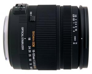 Obiettivo Sigma 18-125mm f/3.8-5.6 DC OS HSM Nikon