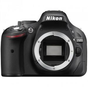 Fotocamera Digitale Reflex Nikon D5200 Body (Solo Corpo Macchina) Black