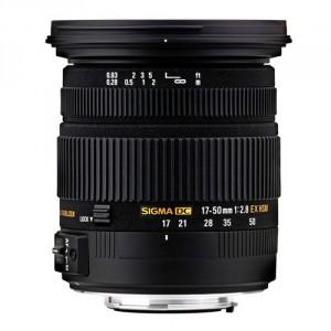 Sigma 17-50mm F/2.8 EX DC HSM (Sony)