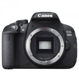 Fotocamera Digitale Reflex Canon EOS 700D Body (Solo Corpo Macchina) Black