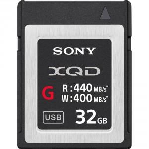 Sony scheda di memoria Flash 32GB XQD, ad alta velocità, serie G