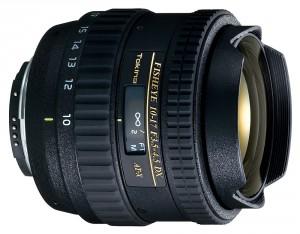 Tokina AT-X 107 AF DX 10-17mm f/3.5-4.5 No Hood (Canon)