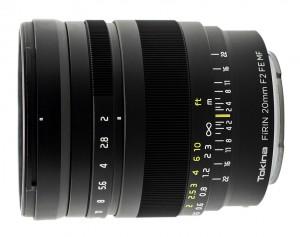 Tokina FiRIN 20mm f/2 FE MF (Sony E-mount)
