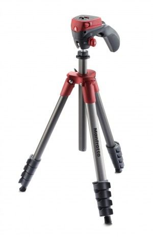 Treppiedi Manfrotto Compact Action MKCOMPACTACN-RD