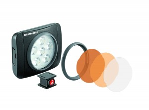 Manfrotto MLUMIEART-BK Luce LED Lumimuse 6