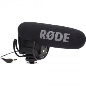 Rode VideoMic Pro Rycote Microfono Mono Direzionale a Condensazione, Mezzo Fucile, Ultra Compatto Professionale con Supporto Rycote