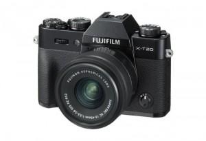 Fotocamera Mirrorless Fujifilm Finepix X-T20 Kit 15-45mm Black Garanzia Ufficiale Fujifilm ®