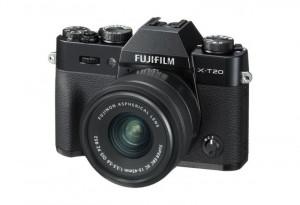 Fotocamera Mirrorless Fujifilm Finepix X-T20 Kit 15-45mm Black+NX Grigia