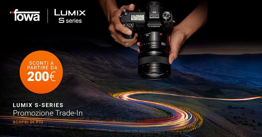 promozione mirrorless Panasonic Lumix S1 S1R obiettivi fotocamere solodigitali roma